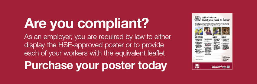 Purchase your Health and Safety Law Poster today