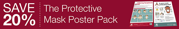 Save 20 percent with The Protective Mask poster Pack