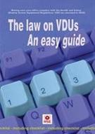 The law on VDUs an easy guide - Front