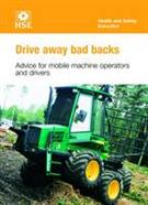 INDG404 Drive Away Bad Backs: Advice for Mobile Machine Operators and Drivers pack of 25