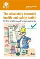 INDG344 The Absolutely Essential Health and Safety Toolkit for the Smaller Construction Contractor pack of 5