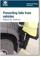 INDG413 Preventing Falls From Vehicles: Advice for Workers pack of 25