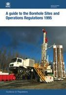 A Guide To The Borehole Sites And Operations Regulations 1995, L72 - Front