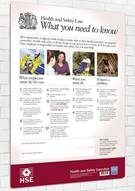 Health and Safety Law Poster - What You Need to Know