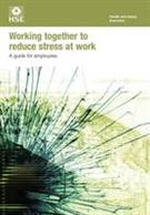 INDG424 Working Together to Reduce Stress At Work: A Guide For Employees pack of 15