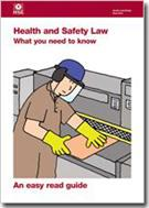 Health and Safety Law Leaflet - What You Need to Know: An Easy Read Guide - Front