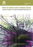 How To Tackle Work-Related Stress, INDG430 - Front