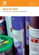 INDG352 Read the Label: How to Find Out if Chemicals Are Dangerous pack of 15