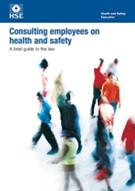 INDG232 Consulting Employees on Health and Safety: A Brief Guide to the Law pack of 5