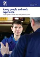 INDG364 Young People and Work Experience: A Brief Guide to Health and Safety for Employers pack of 5