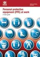 INDG 174 Personal Protective Equipment (PPE) at Work: A Brief Guide 2013 pack of 5