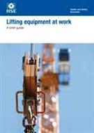 INDG 90 Rev.1 Lifting Equipment At Work: A Brief Guide (pack of 5)