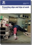 INDG225 Preventing Slips and Trips at Work: A Brief Guide 2012 pack of 10