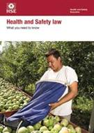 Health and Safety Law: What you need to know (English A5 leaflet version of the Law Poster)
