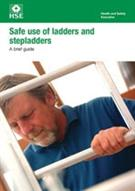 INDG455 Safe Use of Ladders and Stepladders: A Brief Guide pack of 5