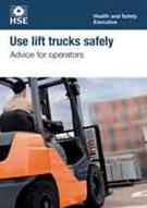 INDG 457  Use Lift Trucks Safely: Advice For Operators (pack of 20)