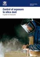 INDG463 Control of Exposure to Silica Dust: A Guide For Employees pack of 10