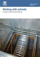 INDG273 Working with Solvents: A Guide to Safe Working Practices pack of 10