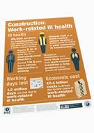 Construction: Work-related Ill Health (poster)