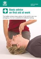 Basic Advice on First Aid at Work, INDG347 (pack of 10) - Front