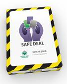 Safe Deal Playing Cards (pack of cards) - Front