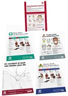 Construction Site Worker Safety Poster Pack