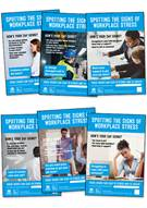 Workplace stress posters (photographic version)