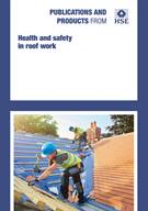 Health and safety in roof work - fifth edition - Front