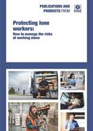 Protecting lone workers, INDG73 - Front