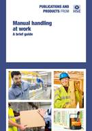 INDG143 Manual Handling at Work: A Brief Guide rev.4 (pack of 5)